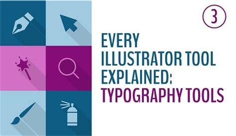 every illustrator tool explained the typography tools avaxhome