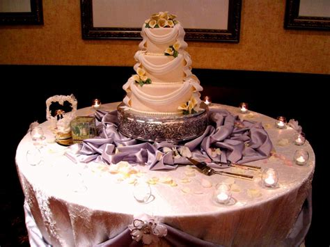cake table decoration ideas wedding cake table decorations romantic decoration