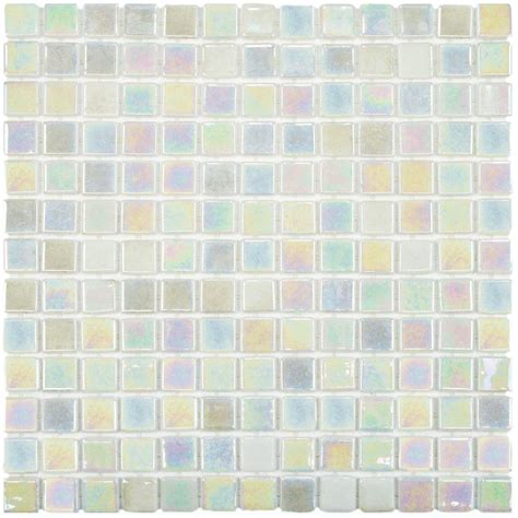 merola tile ruidera square of pearl 13 in x 13 in