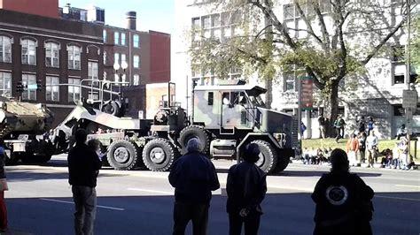 (video Three Of Three) Veterans Day Parade, Monday
