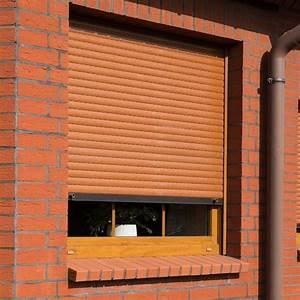 Fenster Mit Integriertem Rollladen : rollladen braun kaufen rollladen in braun t nen ~ Frokenaadalensverden.com Haus und Dekorationen