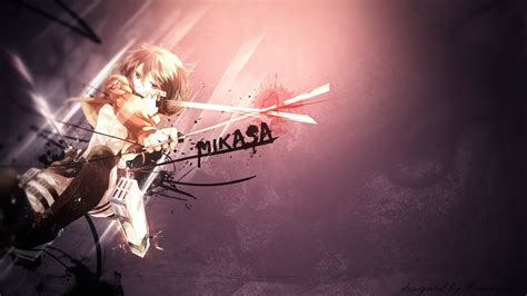 mikasa ackerman wallpapers hd