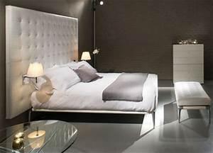 Tete De Lit Design : decoration chambre adulte tete de lit visuel 4 ~ Teatrodelosmanantiales.com Idées de Décoration