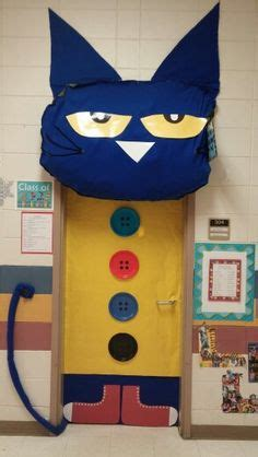 Pete The Cat Classroom Decorations by Classroom Door Decoration On Door Decorating