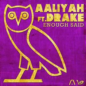 Rap It Up Design: Aaliyah • Drake • Enough Said Cover