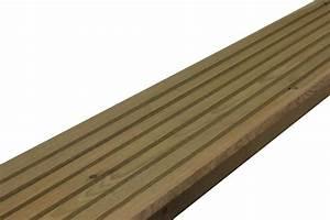 Lame De Bois Pour Terrasse : lame de terrasse pin autoclave vert classic la boutique du bois lames de terrasse ~ Melissatoandfro.com Idées de Décoration