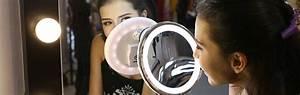 Miroir Grossissant Lumineux X10 : meilleur miroir grossissant lumineux 2018 comparatif ~ Dailycaller-alerts.com Idées de Décoration