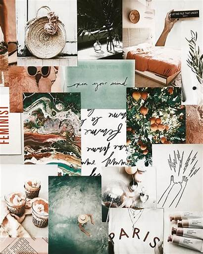 Mood Boards Board Instagram Inspiration Aesthetic Collage