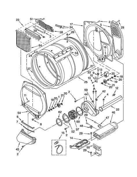 diagram kenmore elite dryer wiring diagram