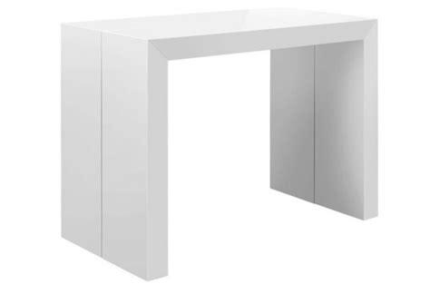 table console extensible blanc laqu 233 nicky 3 rallonges chemin 233 es bio 233 thanol pas cher