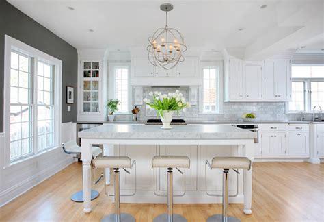 White And Gray Kitchen  Home Bunch Interior Design Ideas