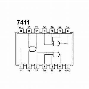 74ls11 Triple 3-input And Gate Buy Online In India