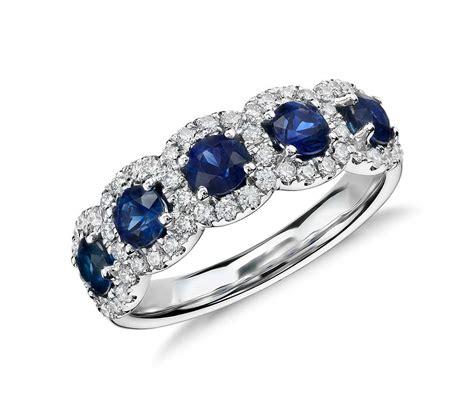 Sapphire And Diamond Halo Ring In 18k White Gold  Blue Nile. Titanium Rings. Identity Bracelet. Birthstone Earrings. Circle Diamond. Bling Pendant. V Shaped Wedding Rings. Beach Bracelet. Memorial Pendant