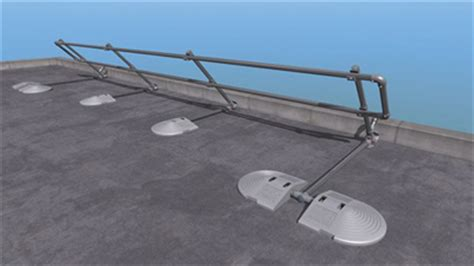kee safety introduces a new free standing folding roof edge protection kee safety group
