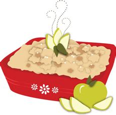 Image result for apple crisp clip art