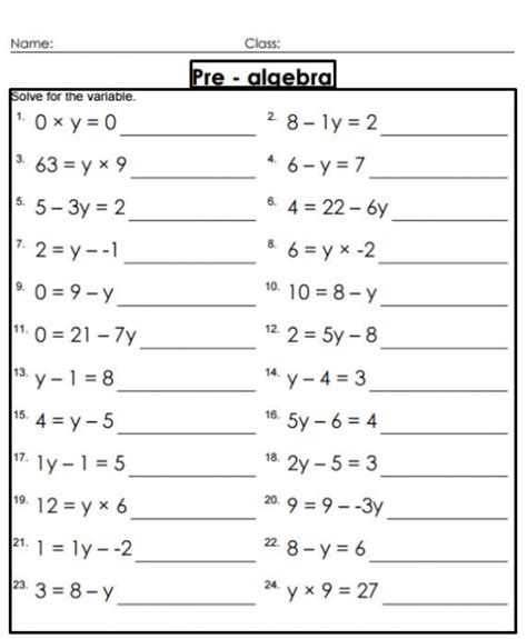 math sums for grade 8 year eighth 8th grade math worksheets printable