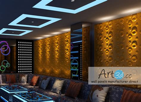 Kitchen Ceiling Panels by Night Club Wall Design Ideas