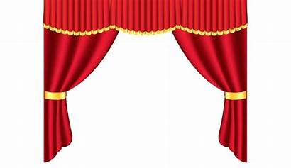 Curtains Clipart Puppet Theater Stage Drawing Curtain