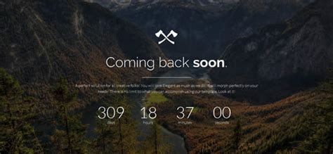 21 New Coming Soon Under Construction Web Pages Templates