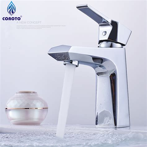 Modern Stainless Steel Bathroom Faucets by Modern Bathroom Faucet Deluxe Solid Stainless Steel