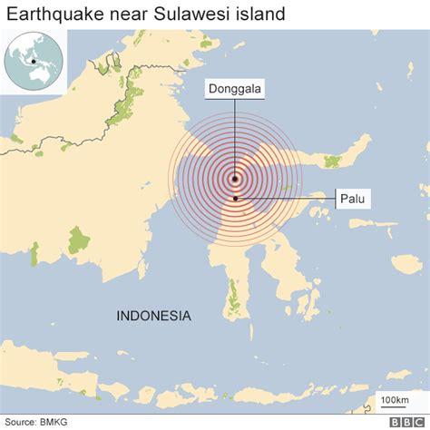 indonesia earthquake hundreds dead  palu quake