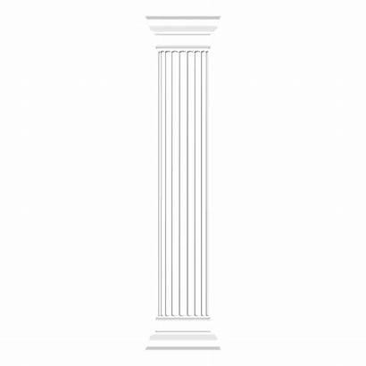 Pillar Greek Column Doric Transparent Vector Svg