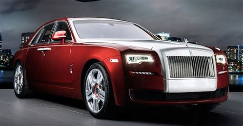 roll royce royal one off rolls royce ghost red edition for saudi