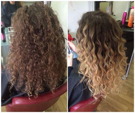 curly balayage beautiful summerhair hair