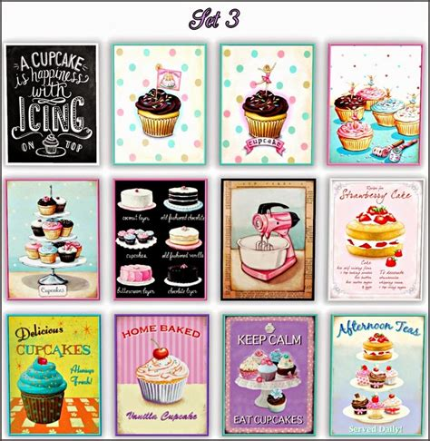 Sims 3 downloads wall decor. My Sims 3 Blog: Bakery Wall Art by Francythatsims