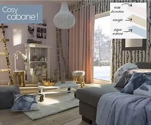 tendance deco salon couleur naturelle ambiance cosy castorama With beautiful peinture mur exterieur couleur 16 palette couleurs beton cire castorama
