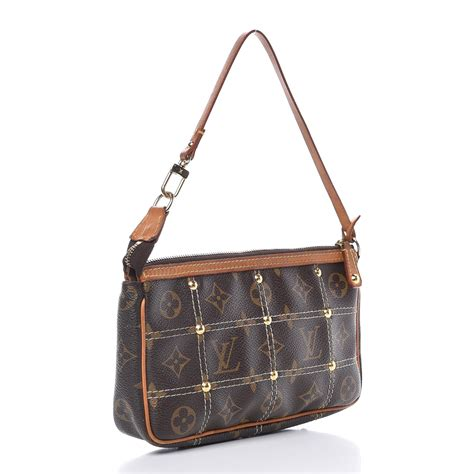 louis vuitton monogram riveting pochette accessories
