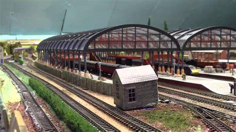 n gauge station canopy and coal mine - YouTube