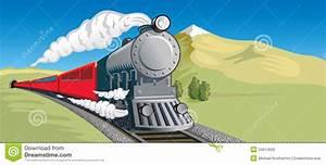 Steam Train stock image. Image of smoke, train, mountain ...