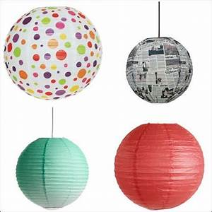Boule En Papier : luminaire suspension boule papier ~ Teatrodelosmanantiales.com Idées de Décoration