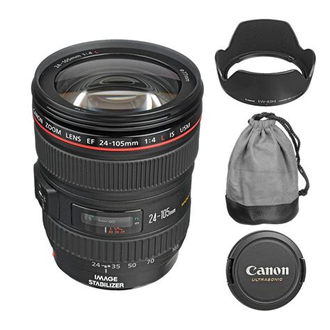 ef 24 105mm f 4l is usm lens for 599 w accessories canon deal