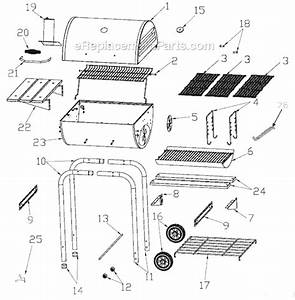 Char-broil 10301565 Parts List And Diagram