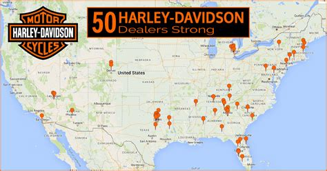 Harley Davidson Maps by Harley Davidson Dealers In Map Business Ideas 2013