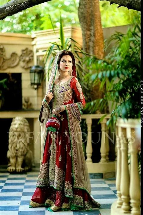 red eastern bridal dresses ideas  silver  golden
