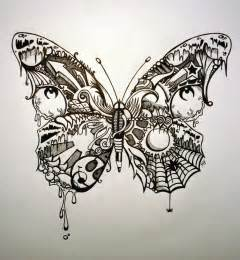 Butterfly Drawing Tattoo Art