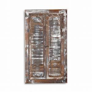 Bilderrahmen Holz Groß : wandspiegel deko spiegel fensterladen bilderrahmen shabby holz spiegel landhaus ebay ~ Markanthonyermac.com Haus und Dekorationen