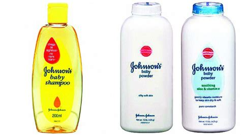 johnson johnsons   tears shampoo talc