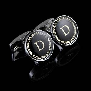 aliexpresscom buy wholesale mens cuff links gold letter With gold letter cufflinks