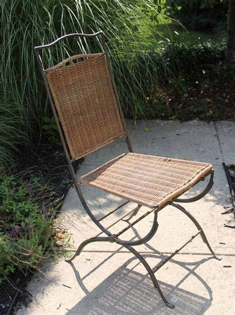 About iconic emmanuelle chair midcentury, rattan peacock chair with seating cushion included. Vintage Wicker / Rattan Chair. Mid Century Modern Seating ...