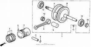 Crankshaft For 1999 Honda Z50