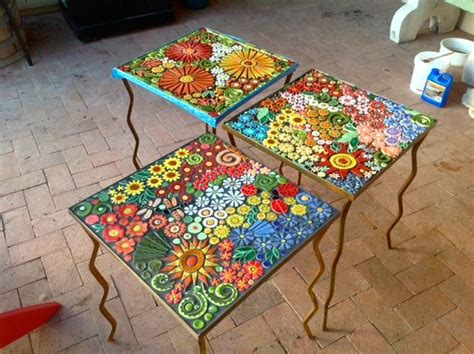 mosaic kitchen table top 25 best ideas about mosaic tables on mosaic