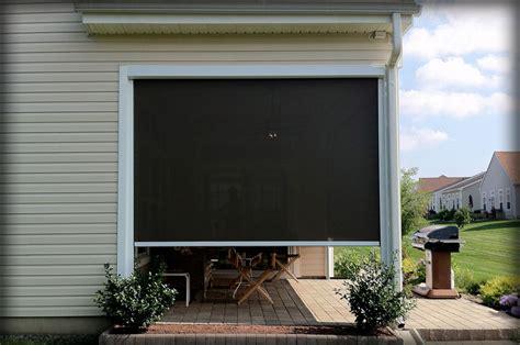 retractable solar shades shade curtains  houses