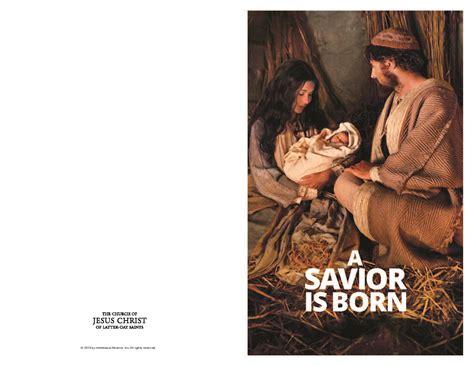asaviorisborn lds christmas program color lds media talk