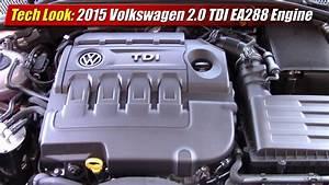 Tech Look  2015 Volkswagen 2 0 Tdi Ea288 Engine