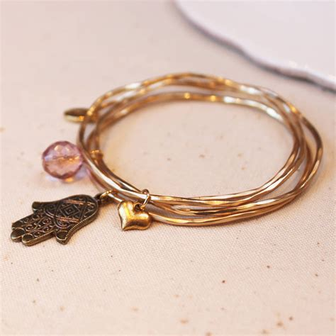 Gold Hamsa Hand Bangles With Swarovski Crystal Bead By. Online Shopping Watches. Cc Chanel Brooch. Rose Gold Anniversary Band. Watch Platinum. Uk Womens Watches. Anklets For Big Ankles. Stackable Bracelet. Red Beads For Jewelry Making