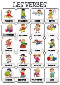 les verbes le verbe fle et exercices